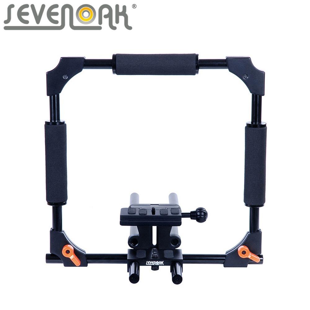Sevenoak-SK-C01-15mm-Rod-PRO-Camera-Cage-SteadyCam-System-for-Canon-5D-5D-Mark-II