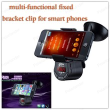 3.5MM Multi-function mobile phone clip multi-functional fixed bracket built-in Bluetooth receive Bluetooth(China)