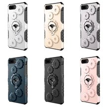 Gear Armor Anti-Knock Kickstand Dirt-resistand Stand Case For Iphone 5 5G 5S 7 Plus 7Plus Phone Cover With Arm Bank Sport Bag(China)
