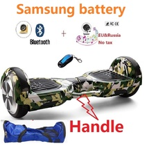 "Self balancing Scooter Samsung battery 6.5"" Electric Scooter Hoverboard Bluetooth gyroscooter 2 Wheels Smart balance scooter(China)"