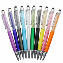 1 Pcs / Lot Crystal Pen Diamond Ballpoint Pens Stationery Ballpen Caneta Novelty Gift Zakka Office Material School Supplies