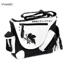Casual Neon Genesis Evangelion Men Travel School Bags EVA Women's Messenger Bag Students Cartoon Bookbag Laptop Bolsas Male