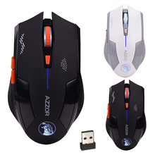 Malloom Mouse Cool Magic Hawk Style Ergonomic Hybrid 2.4GHz Wireless 6D Rechargeable 2400DPI X3 6 Buttons Optical Gaming Mouse