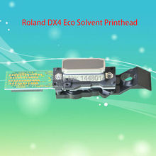 100% original new Roland DX4 eco solvent printhead for Epson DX4 head for Mimaki Roland Mutoh printer head 1pc retail(China)