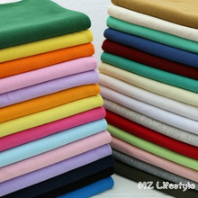 20x100cm 1x1 Stretchy cotton knitted rib cuff fabric for  DIY sewing clothing making accessories fabric