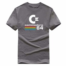 Mens Clothing With t-shirt Sommer Commodore 64 T Shirts C64 SID Amiga Retro 8-bit Ultra Cool Design Vinyl T-shirt