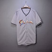 Men/Women Short Sleeve Marlins Baseball Jersey Quick Dry Sport Hip Hop/Base Suit Jerseys/Shirt/Custom For Homme/Hombre/Mujer