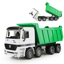 Free Shipping Big Size Large Jumbo Sandbox Vehicle Dump Truck Sand Transport on Beach For Children's Toys(China)