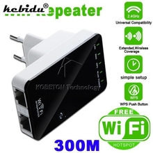 kebidu Wireless-N Network Router AP WIFI Repeater Amplifier LAN Client Bridge IEEE 802.11b/g/n 300Mbps Signal Booster EU/US Plug(China)