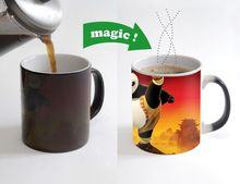 kungfu panda cup kongfu panda mugs magical mugs disappearing heat disappearing cups  beer coffee cups