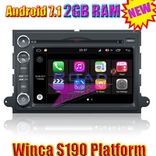 Wanusual Winca S190 Android 7.1 Car DVD Player For Ford Fusion/Explorer/F150/Focus/Edge/Expedition/Mustang Stereo GPS Navigation(China)