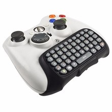 Mini Wireless Computer Game Keyboard Chat Pad for Microsoft Xbox 360 Controller Wireless Live Games Controller