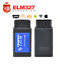 New ELM 327 WIFI V1.5 with PIC18F25K80 Chip OBDII Diagnostic Wireless Scanner For IPhone Touch ELM 327 WIFI OBD 2 Scanner