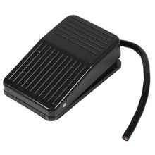 220V Switch 10A Electrical Power Foot Pedal Switch On/Off Control Switch Plastic Black 10cm Cord