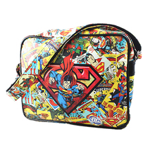 DC Comics Superman Captain America Spider Man/ Thor/Superman series Multi-Color Messenger Handbags Shoulder Bag