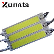 20pcs 1.5W COB led module Light Advertising lamp Led Sign Backlights Epoxy Waterproof 12V warm white/red/blue/Green/Yellow(China)