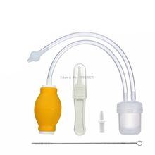 Newborn Baby Safe Soft Nasal Mucus Snot Aspirator Vacuum Suction Nose Cleaner -B116