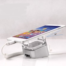10 pcs/lot mobile phone alarm display stand iPhone Android alarm lock charging  holder