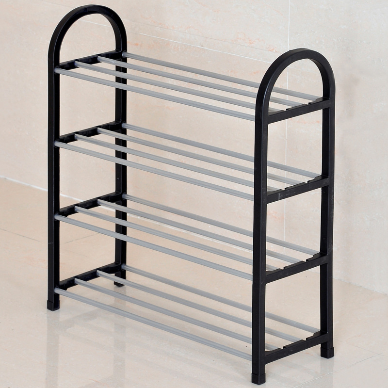 COSTWAY 4 Tier Shoes Rack Shoe Cabinets Stand Shelf Shoes Organizer Living Room Bedroom Storage Furniture W0191 3