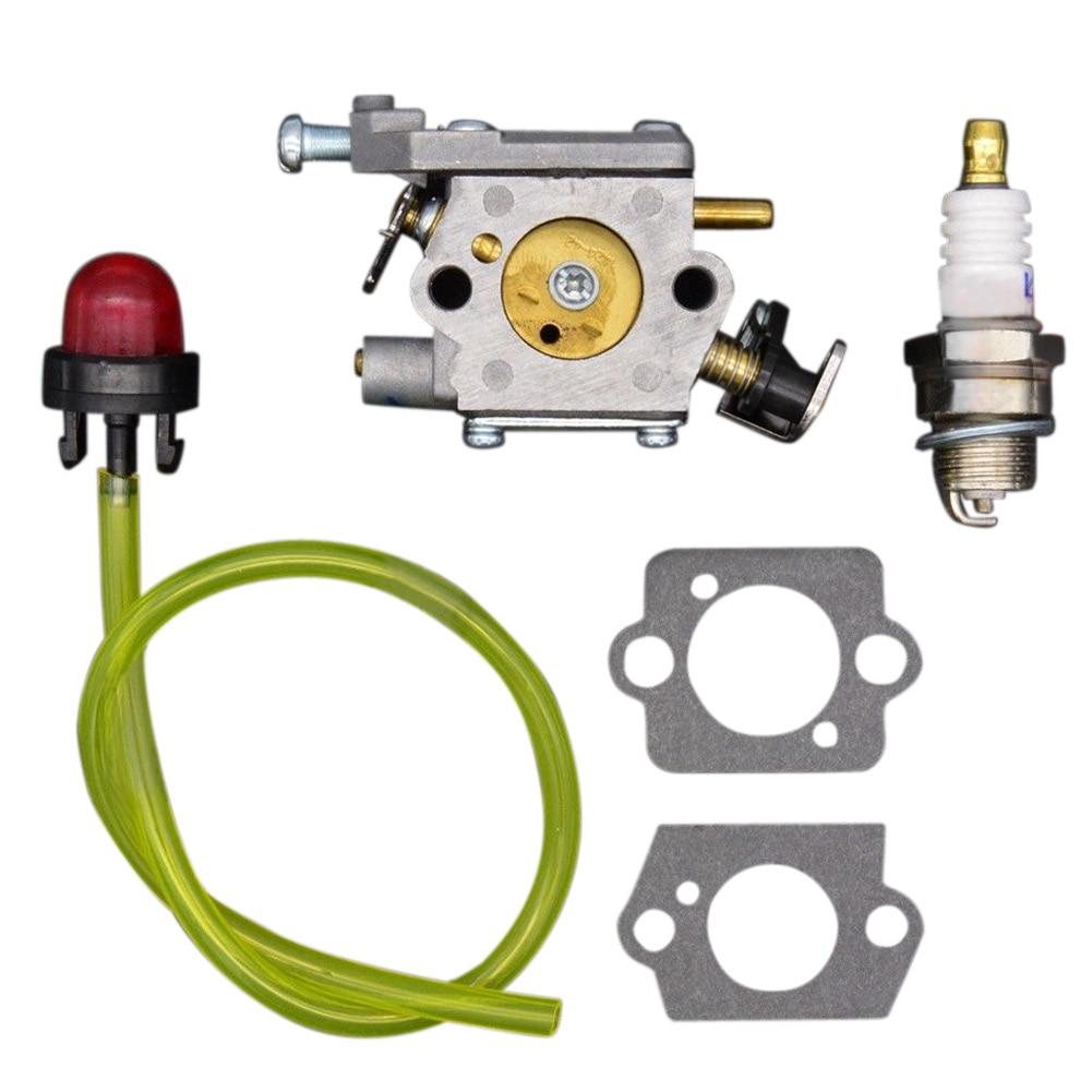 2017 New 38cc Carburetor Carb Rebuild Repair parts Gasket Fuel Filter Set Fit for 35cc 42cc Chainsaw OEM 309362001 309362003<br><br>Aliexpress