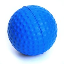 Golf ball for Golf training Soft PU Foam Practice Ball - Blue(China)