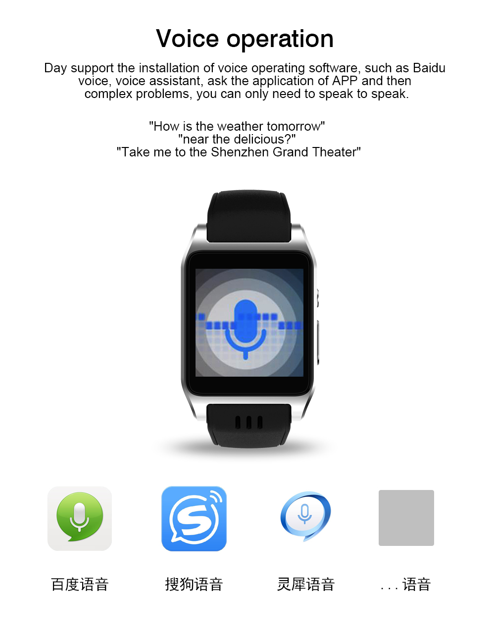 600mah battery 512MB+4GB Bluetooth Earphone Smart Men watch 3G Wifi Android 5.1 Touch Screen SmartWatch with 30W camera