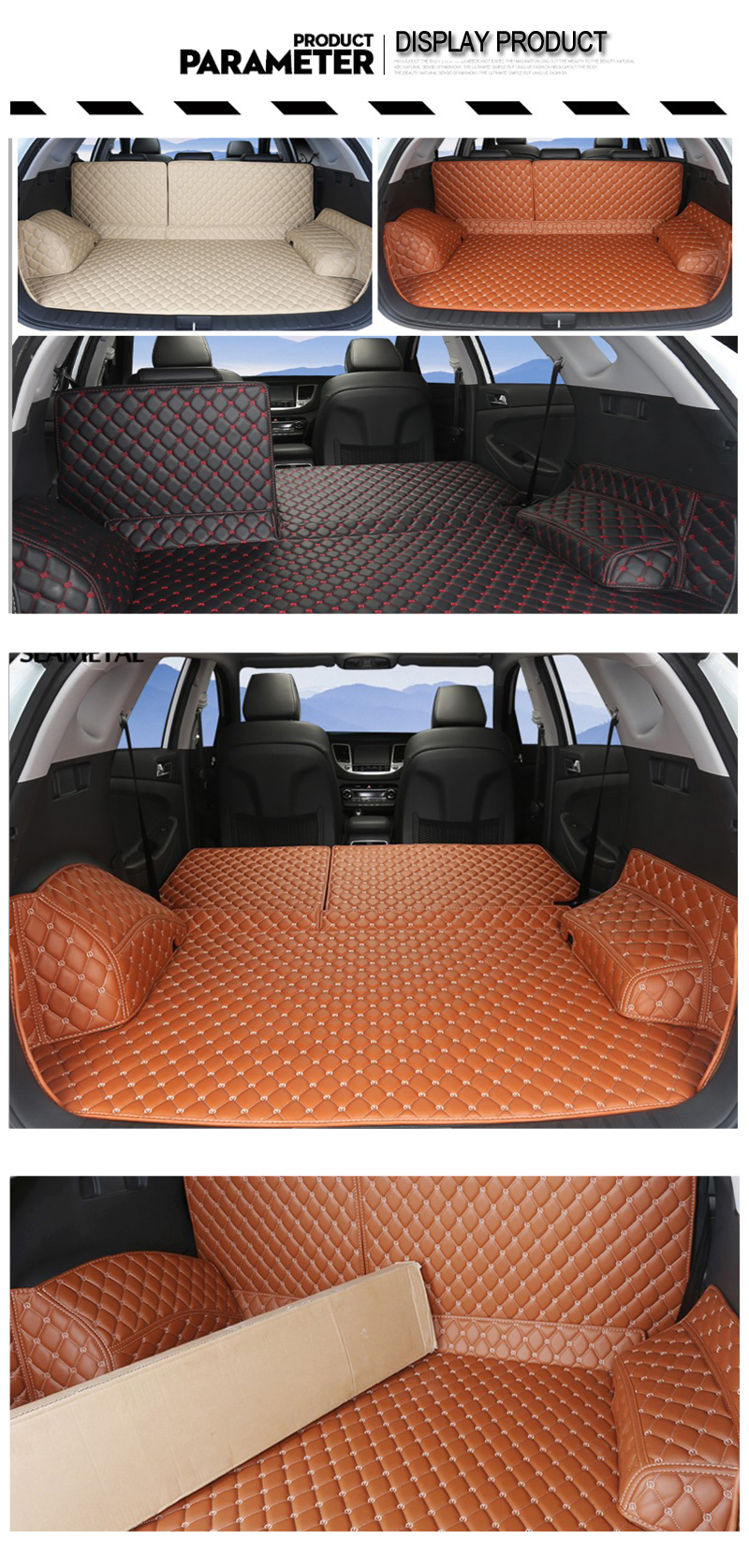 5 Cargo Liner For Hyundai Tucson 2018 2017 2016 TL 3 Car Floor Trunk Carpet Rugs Mats Automobile Accessories Car-styling Mat Rug