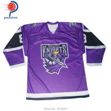 Hot Sale Best Price Knight Ice Hockey Team Jerseys with Custom Team Designs(China)