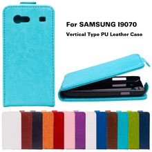 Flip Phone Covers Cases For Samsung Galaxy S Advance i9070 Premier i9260 i9268 GT-I9070 i9070 Case Cover Vertical PU Leather Bag