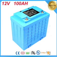 Free Customs taxes and shipping LIFEPO4 battery/Lithium battery 12V 100Ah/12V 100Ah LIFEPO4 battery pack For UPS,led lights