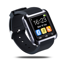 U80 Bluetooth Smartwatch Alarm Clock For iOS Android Phone U80 update version Wrist Watch clock For iPhone Android electric gift(China)