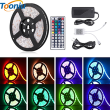 5050 RGB LED Strip Waterproof 5M 300LED DC 12V RGBWW RGBW LED Light Strips Flexible Neon Tape Add Remote and 3A 36W Power