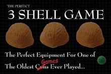 ITgimmick The Perfect 3 Shell Game - close up bar magic tricks gimmick wholesale
