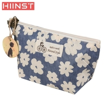 flower Portable Travel Cosmetic Bag Makeup Case Pouch Toiletry Wash Organizer  Cosmetic Bag Comfystyle san16di