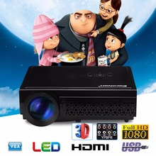 Excelvan LED 96+ LED Full HD LED 5500Lumens Home Cinema Projector TV 3D LCD Multimedia Video Game Projector/ Proyector/Beamer