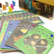 Full English version Dixit 1+2+3 educational kids toys for family children board game 12 players cards game