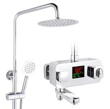 Buy Thermostatic shower faucet shower head set,Bathroom shower faucet thermostatic mixing valve, Temperature sensitive shower faucet for $171.55 in AliExpress store
