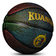 Kuangmi sporting goods Youths Street Game Basketball Trainer PU Leather 6# 7# Basket Ball Outdoor Indoor Basketball ball NEW(China)