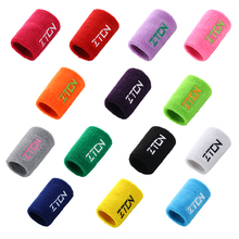 Sport Wristband Cotton Sweat Band Wrist Support Protector Wrist Guards Tennis Basketball Gym Wrist Wraps Brace