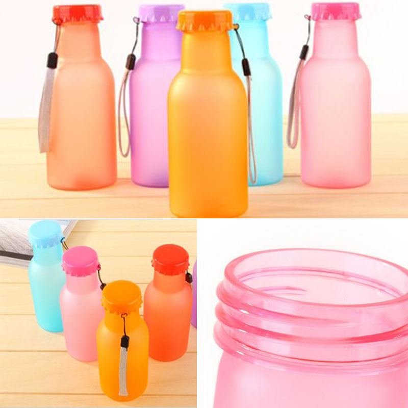 Unbreakable Water Bottle BPA Free Gift family Sport Leak-proof Bottles 350ML Outdoor Water Bottle