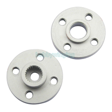 10PCS 25T standard Servo Arm Round type small disc servo mount bracket Spindle/Vice axis rudder plate for MG995 996 Futaba Robot