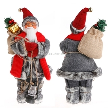 Christmas Santa Claus Doll Toy Christmas Tree Ornaments Decoration Exquisite For Home Xmas Happy New Year Gift #081025#