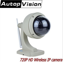 Buy X33 Outdoor 720P HD Wireless Wifi 1MP Pan Tilt Zoom Waterproof Security IP Camera H.264 P2P Surveillance Camera for $94.98 in AliExpress store