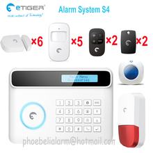 Free Shipping! New Wireless 50 defense zones 433mhz PIR Home Security Burglar Siren Alarm System Auto Dialing Dialer Easy DIY