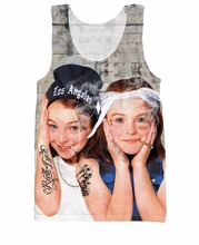 2015 New Arrive Parent TRAP Tank Top Annie and Hallie future Mean Girls star Summer Style Sexy Vest Jersey Tops For Women Men(China)