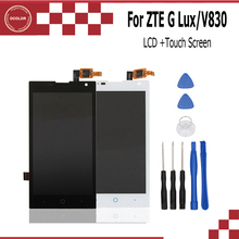 ocolor For ZTE G Lux 3G/V830 LCD Display Screen Smartphone Accessories For ZTE G Lux 3G/V830 Mobile Phone Replacement With Tools(China)