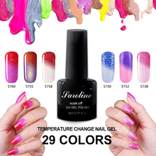 Saroline 8ml Nail Gel LED UV Soak Off Long Lasting Chameleon Gel Polish Temperature Changing Gel Color LED UV Gel Nail Polish(China)