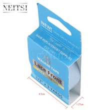 "Neitsi Walker Tape Lace Front Hair System US Tape Double Side Adhesive Tape For Skin Weft Tape Hair Extensions 0.5"" Width 3 YDS"