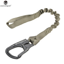 Emerson Tactical Quick Release Safety Lanyard BeltSurvival Sling Rope Climbing Strap Line Outdoor Hunting Gun Strap Mount Tool(China)