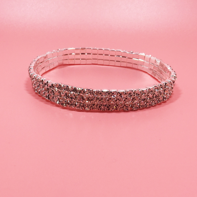 5 Sizes Stretch Bling Anklets*